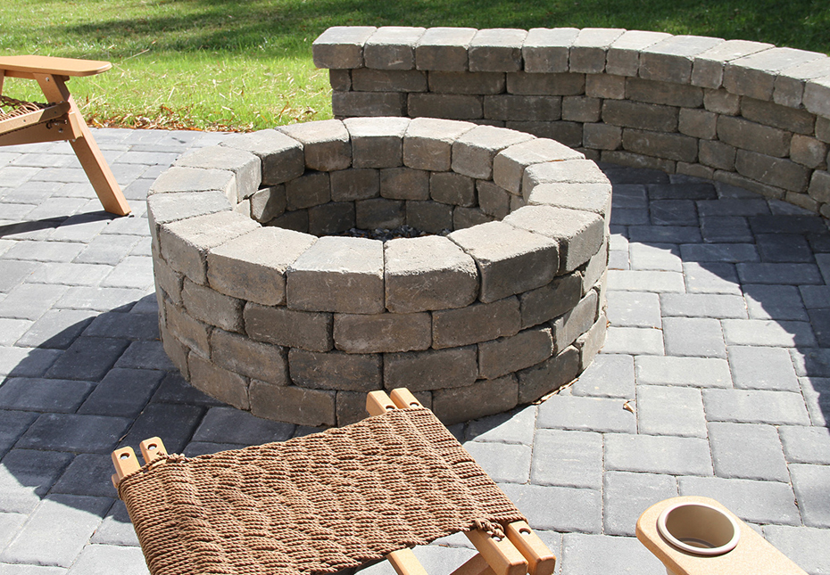 Ashland Fire Pit in Coastal Tan