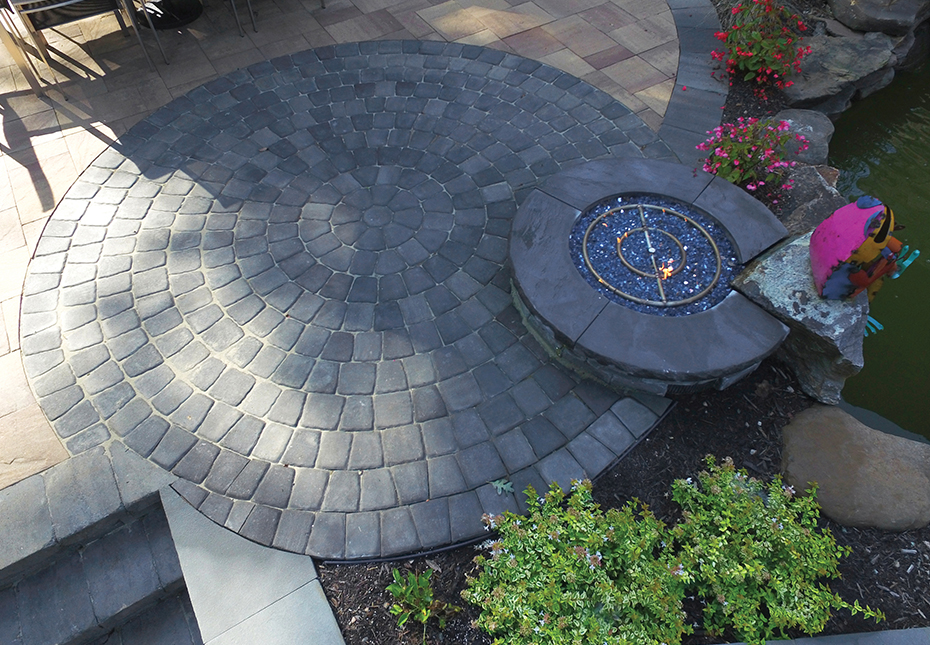 Classic Cobble Circle Kit Newline Hardscapes