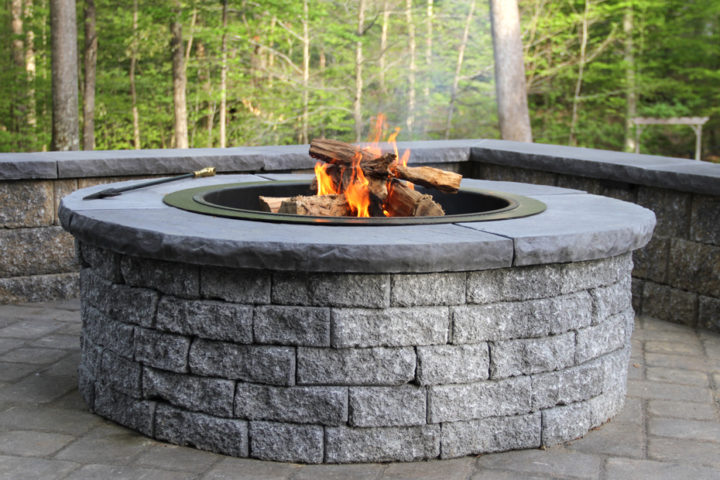 Stoneledge Fire Pit in Granite
