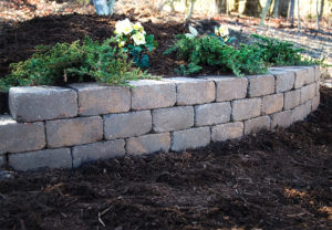 Ashland Wall in Fieldstone