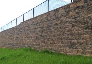 Cornerstone 100 Wall in Coastal Tan