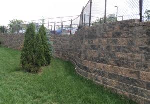 Cornerstone 100 Wall in Fieldstone