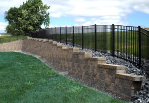 Cornerstone 100 Wall in Fieldstone