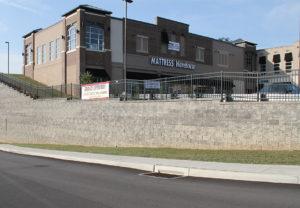 Cornerstone 100 Wall in Granite