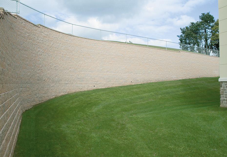Regal Stone Pro Straight Wall in Palmetto