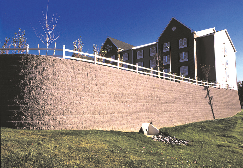Regal Stone Pro Straight Wall in Mesquite