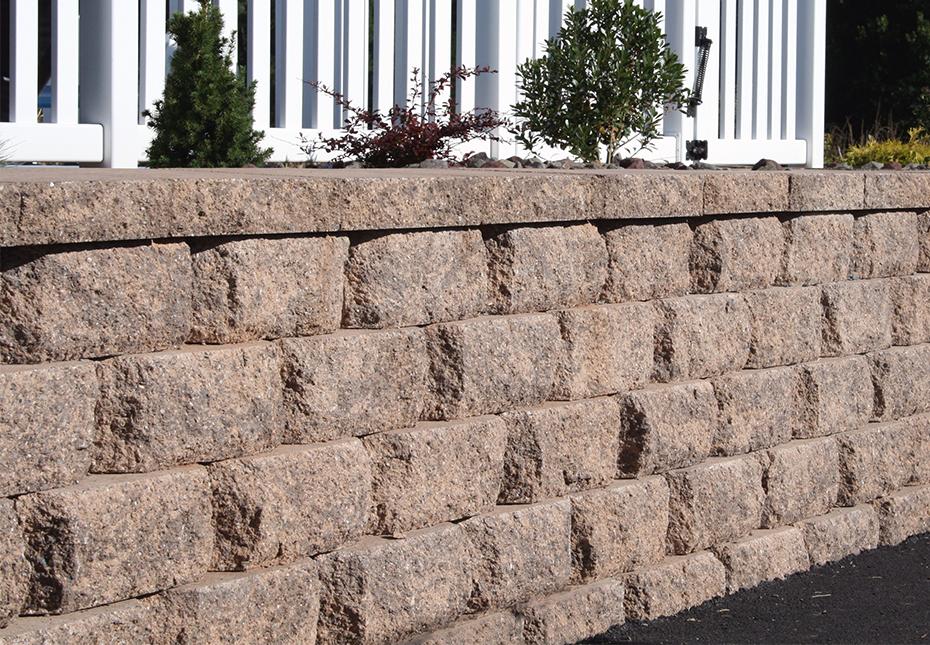 Diamond Stone Cut Wall in Coastal Tan