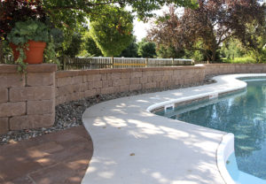 Stonegate Wall in Mesquite