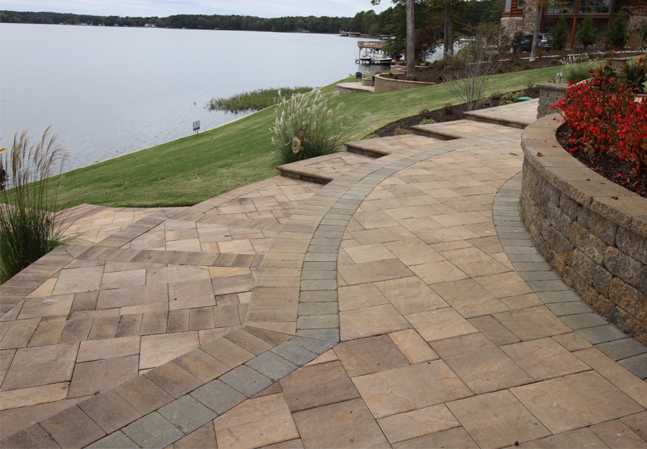 Coping in Mesquite | Napa Wall in Fieldstone