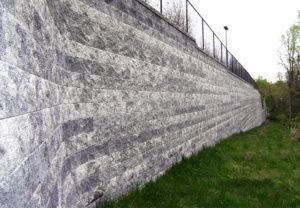 Compac Wall in Granite