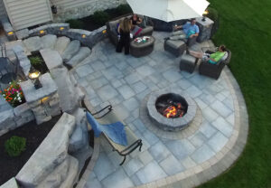 Dimensional Flagstone in Canyon