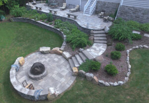 Dimensional Flagstone in Canyon & Ash