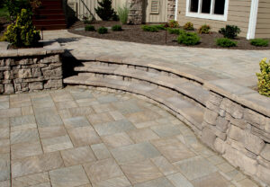 Dimensional Coping & Column Caps & Belvedere Wall in Saddle